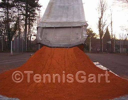 Neubau Tennisplatzbau
