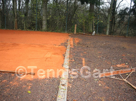 Tennisplatzsanierung Sanierungskosten Grundüberholung