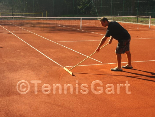 Platzwartservice Instandsetzung Tennisplatzbau Tennisplatzpflege