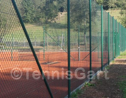 Neubau Zaunbau Tennisplatzbau