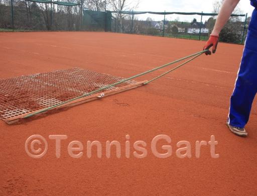 Tennisplatzpflege Anleitung Tennisplatzbau