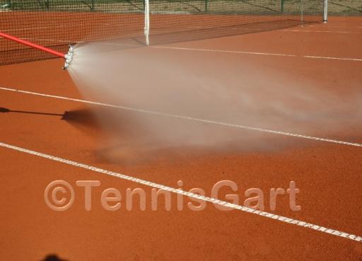 Bewässerung Bewässerungsanlage Tennisplatz