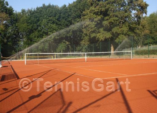 Bewässerungsanlage Tennisplatz Bewässerung