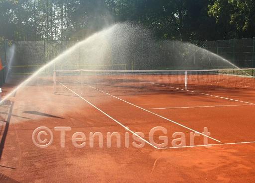 Bewässerungsanlage Bewässerung Tennisplatz
