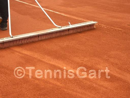 Tennisplatz Pflege Platzwart Platzwartservice