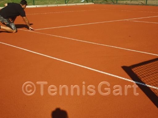 Tennisplatz Pflege Platzwartservice Instandsetzung Tennisplatzbau