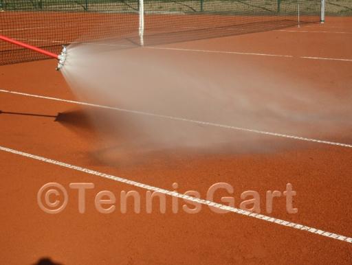 Platzwart Tennisplatz Pflege Tennisplatzbau