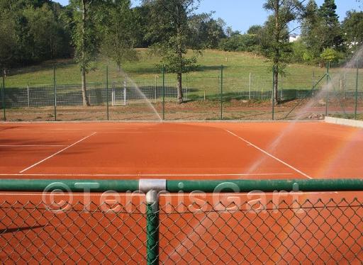 Bewässerung Tennisplatz Bewässerungsanlage