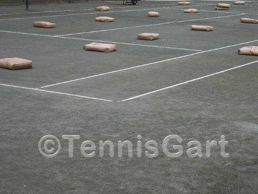 Canada Tenn Instandsetzung Tennisplatzbau