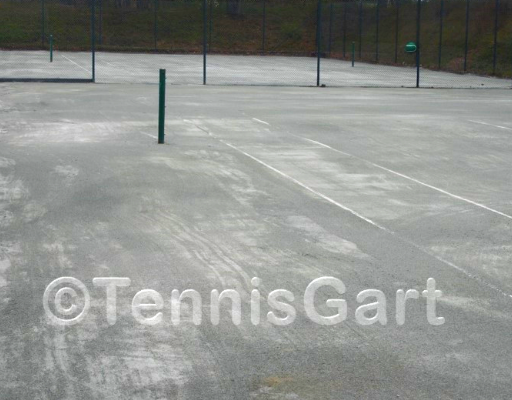 Canada Tenn Frühjahrsinstandsetzung Tennisplatzbau