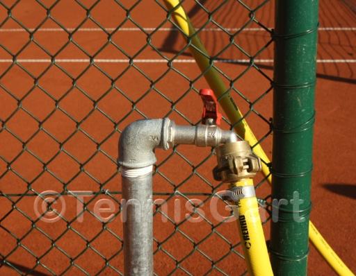 Winterwartung Tennisplatz winterfest machen