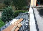 Pflasterarbeit Landschaftspflege Stahlpodest