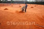 Frühjahrsinstandsetzung Tennisplatzbau Instandsetzung